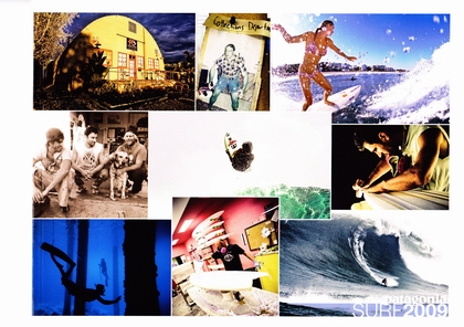 PATAGONIAのカタログ・SURF2009。