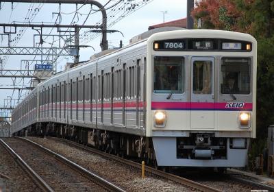 No.17 7204F+7205F 快速新宿行