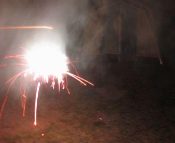 去年の花火