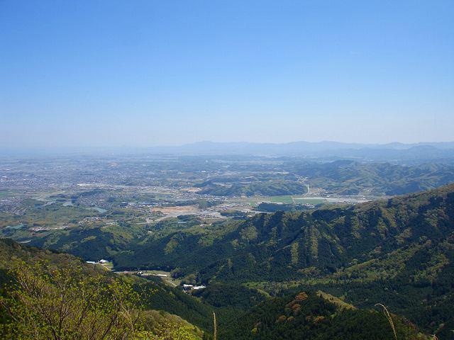山頂から東南