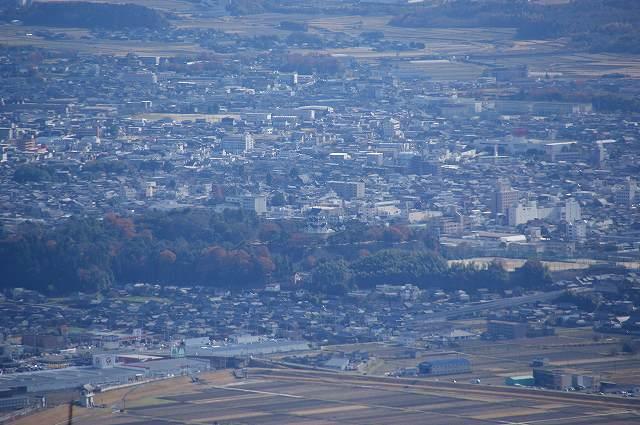 上野市街(上野城)