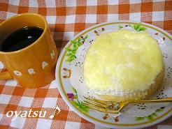 白いチーズケーキ