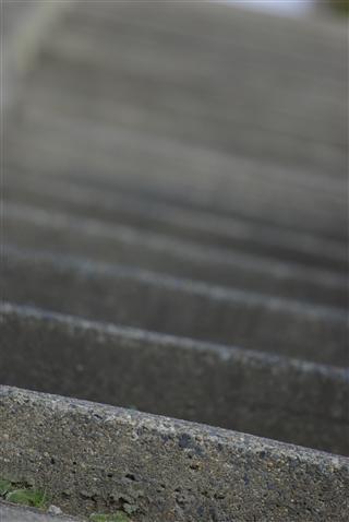 漁港からの階段