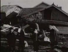 チリ地震津波 被害住宅 00040