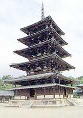 法隆寺五重塔