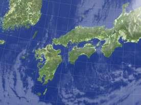2009年4月2日午前3時 japan_west_small