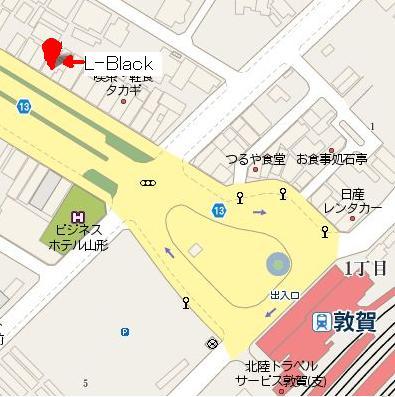 L-BLack 地図