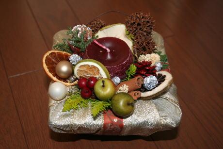 IMG_4101クリスマスアレンジ