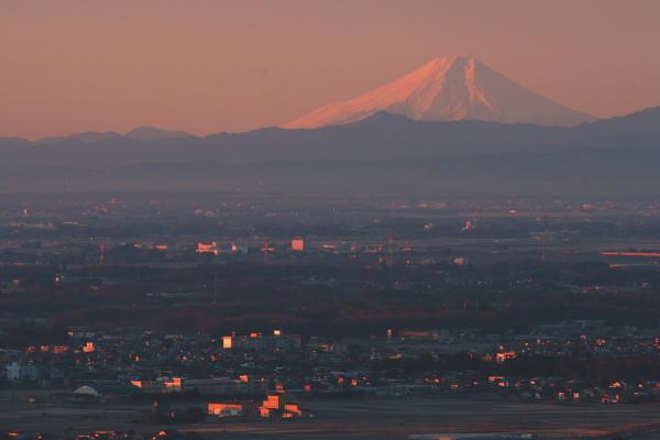 1月4日の富士山