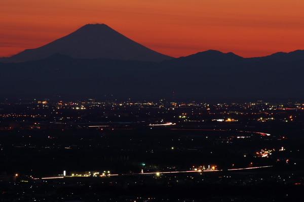 1月13日の富士山