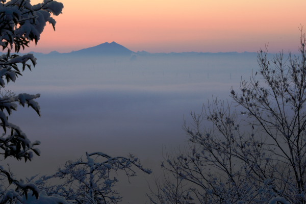 太平山雪景色1