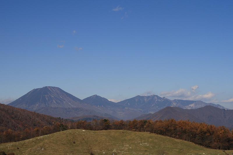 横根からの日光連山
