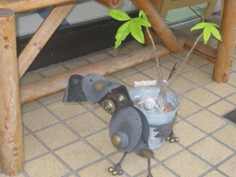ワンコ植木鉢