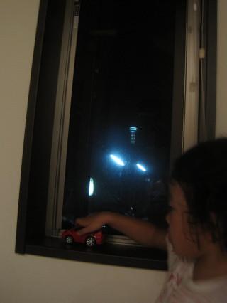窓からマリンタワー