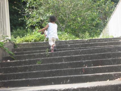 ゆーづと散歩1