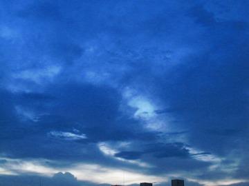 夕方の空・・・