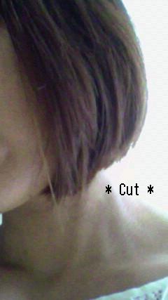 8月6日・・・Cut