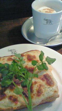 SHOZO Cafe クロックムッシュセット