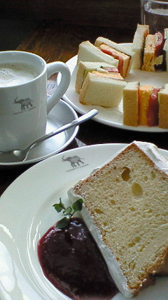 SHOZO  Cafe シフォンケーキ
