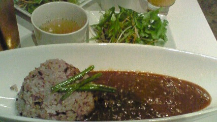 五穀米カレーセット
