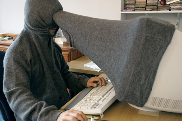 USBのぞき見防止フード
