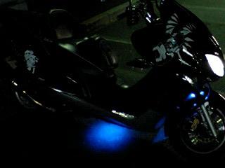 LEDパターン点灯