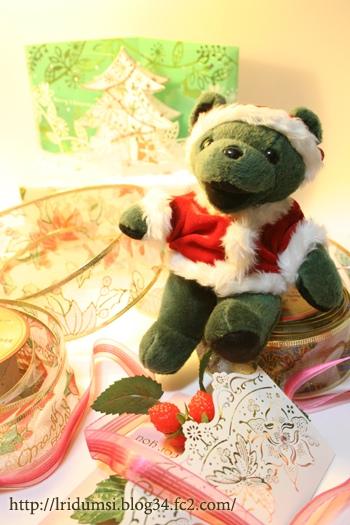 Nicholas クリスマスの支度中