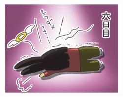 キノコ栽培への道 六日目