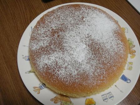 スフレケーキ1