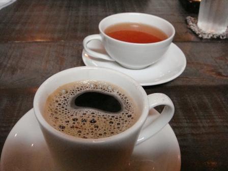 穀物コーヒー&ケニアティー
