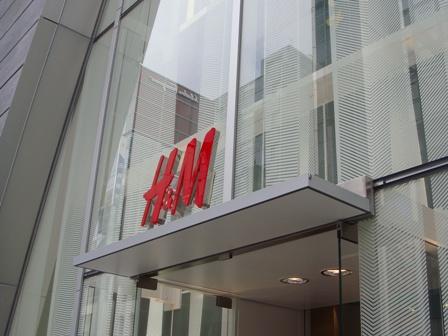 銀座 H&M