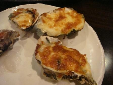 牡蠣グリル焼き