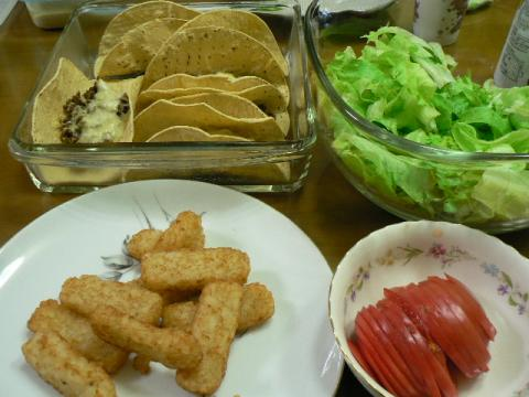 2009年11月1日夕食
