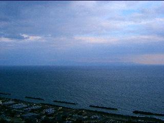 伊豆半島・・・見えるでしょうか