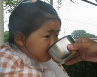 麦茶美味しい☆