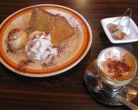 オレンジシフォンとカフェ・ティラミス♪