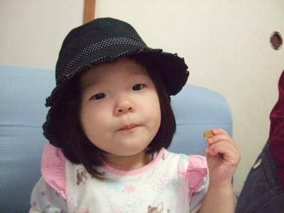 s-黒い帽子