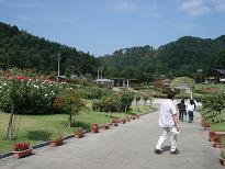 薔薇公園入り口