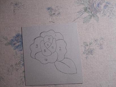 薔薇のつもりの絵