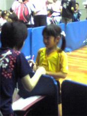 コーチと次女