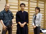 剣道日本の記者様とカメラマン様です。