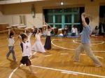O山先生が1年生の指導をなされます。