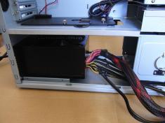 Antec P183 電源の取り付け(1)