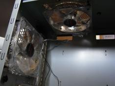 Antec P183 ケースファンの交換・取り付け(1)