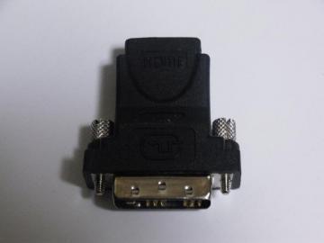 GeForce GTX 260 DVI-HDMI変換コネクタ