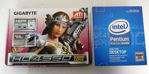 E5200 & HD4550