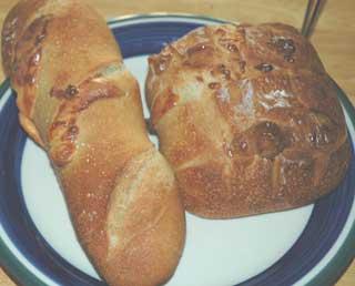 ルバーブ酵母のフランスパン