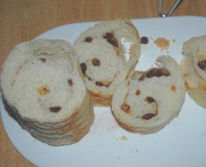 あわせトヨ型を使ったパン