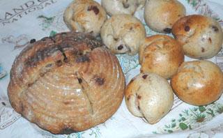 ルバーブ酵母のパン