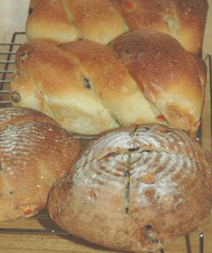 グレープフルーツピールのパン